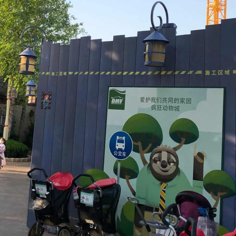 Zootopia Expansion Construction Update at Shanghai Disneyland (May 2020)