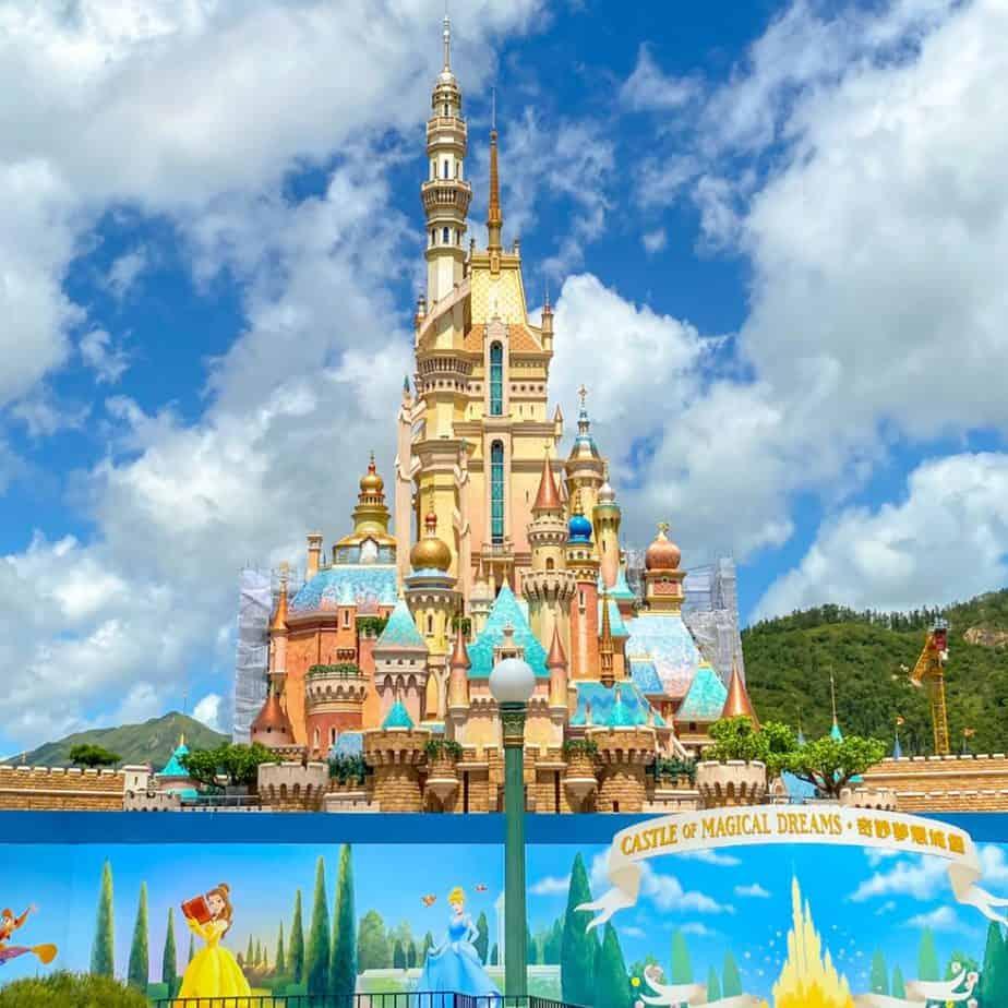 Hong Kong Disneyland Castle of Magical Dreams Updates