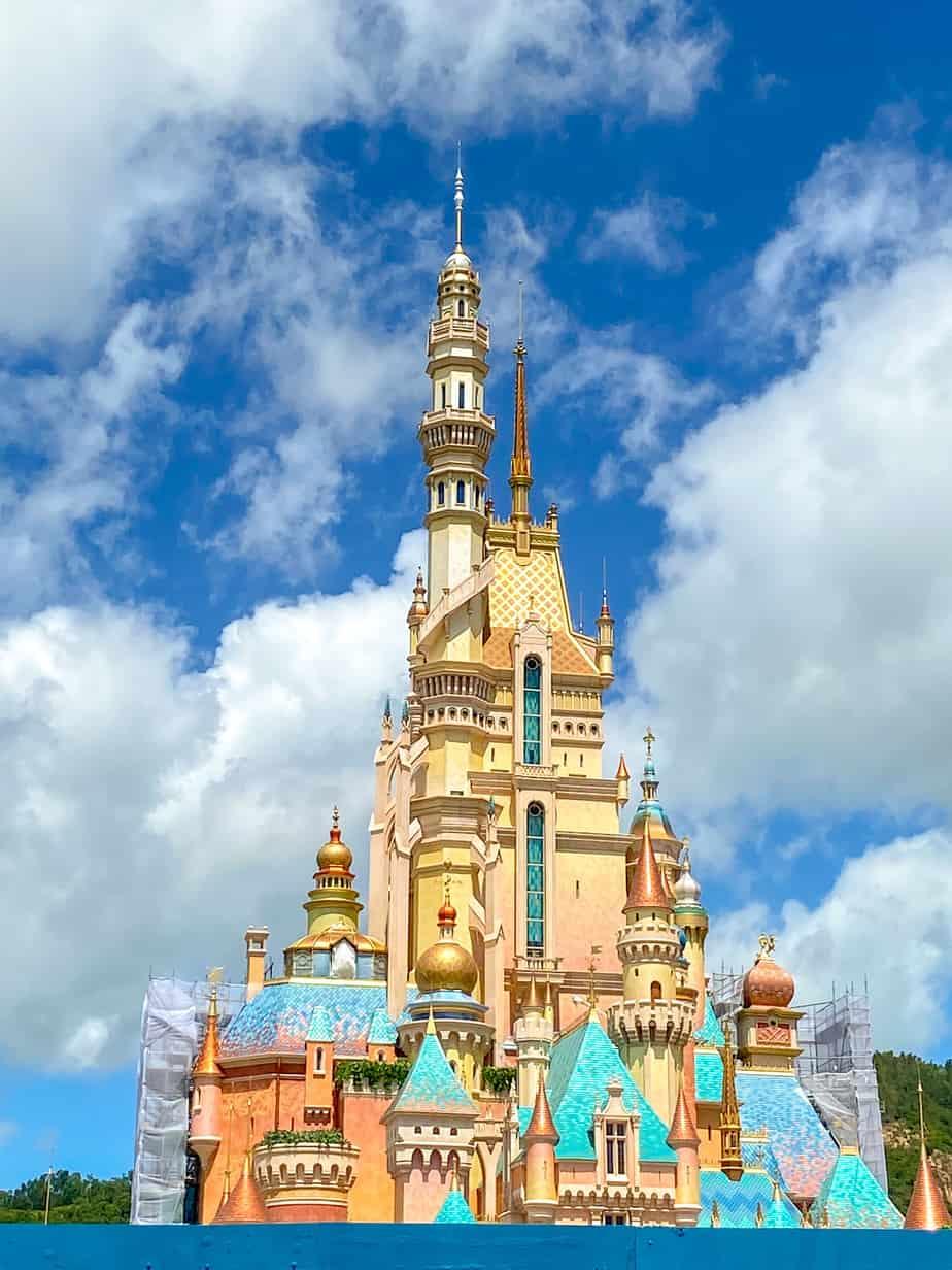 Castle of Magical Dreams Hong Kong Disneyland June 2020 Close