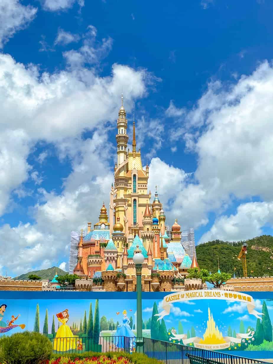 Castle of Magical Dreams Hong Kong Disneyland June 2020