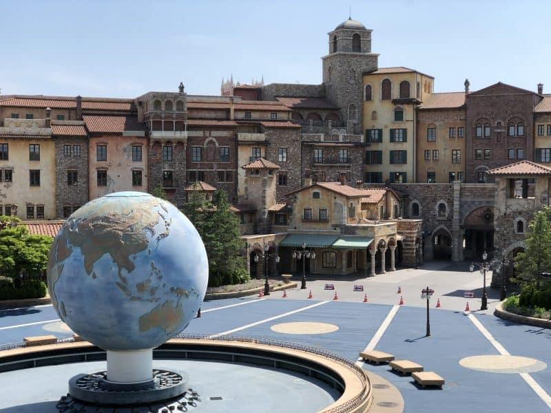 Aquasphere and the Plaza