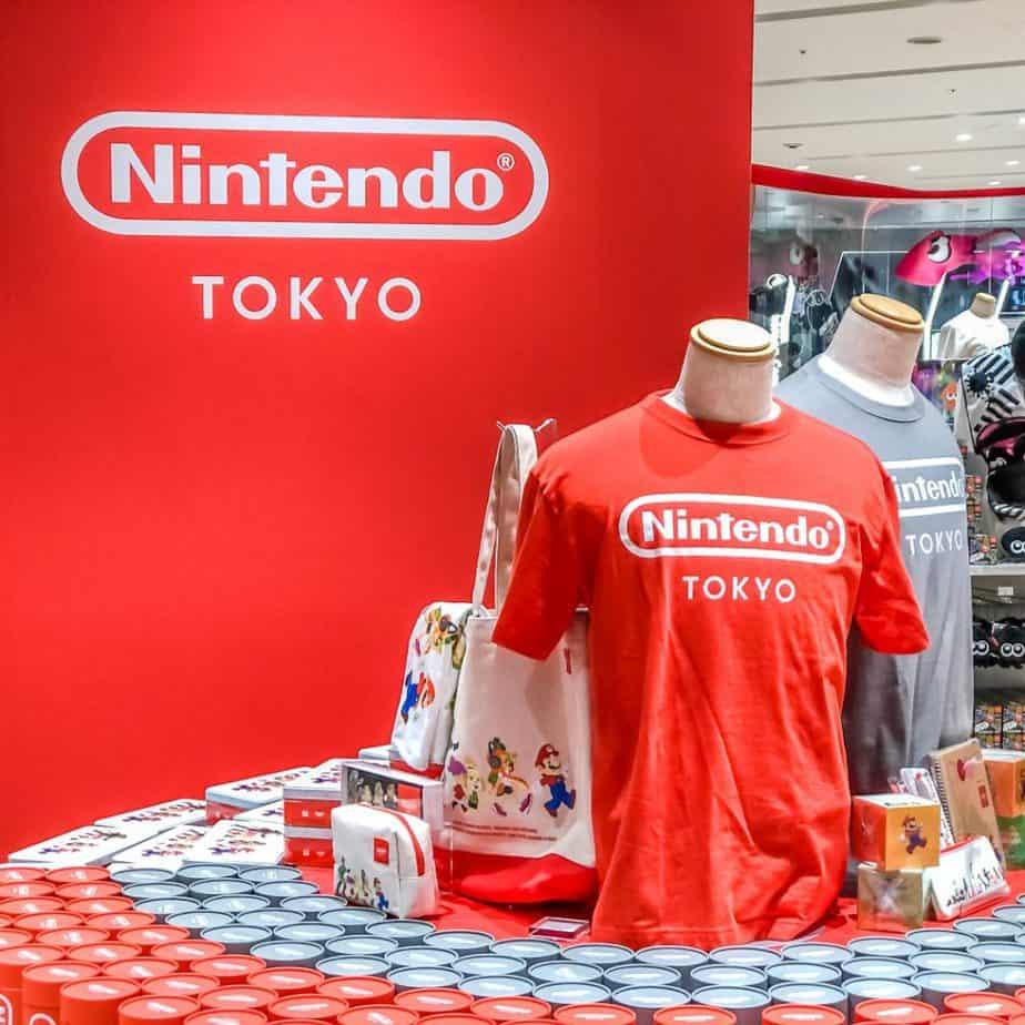 Nintendo Tokyo Store Merchandise
