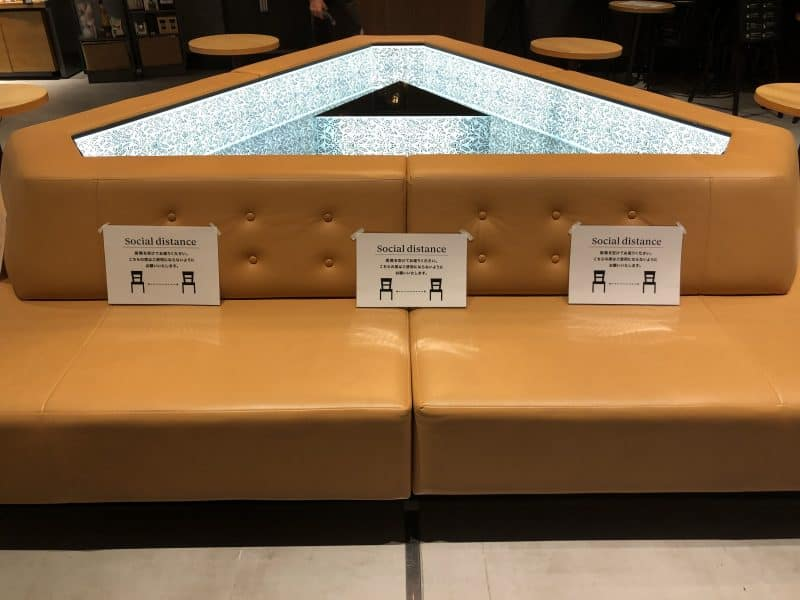 Starbucks Social Distancing Seating Ikspiari