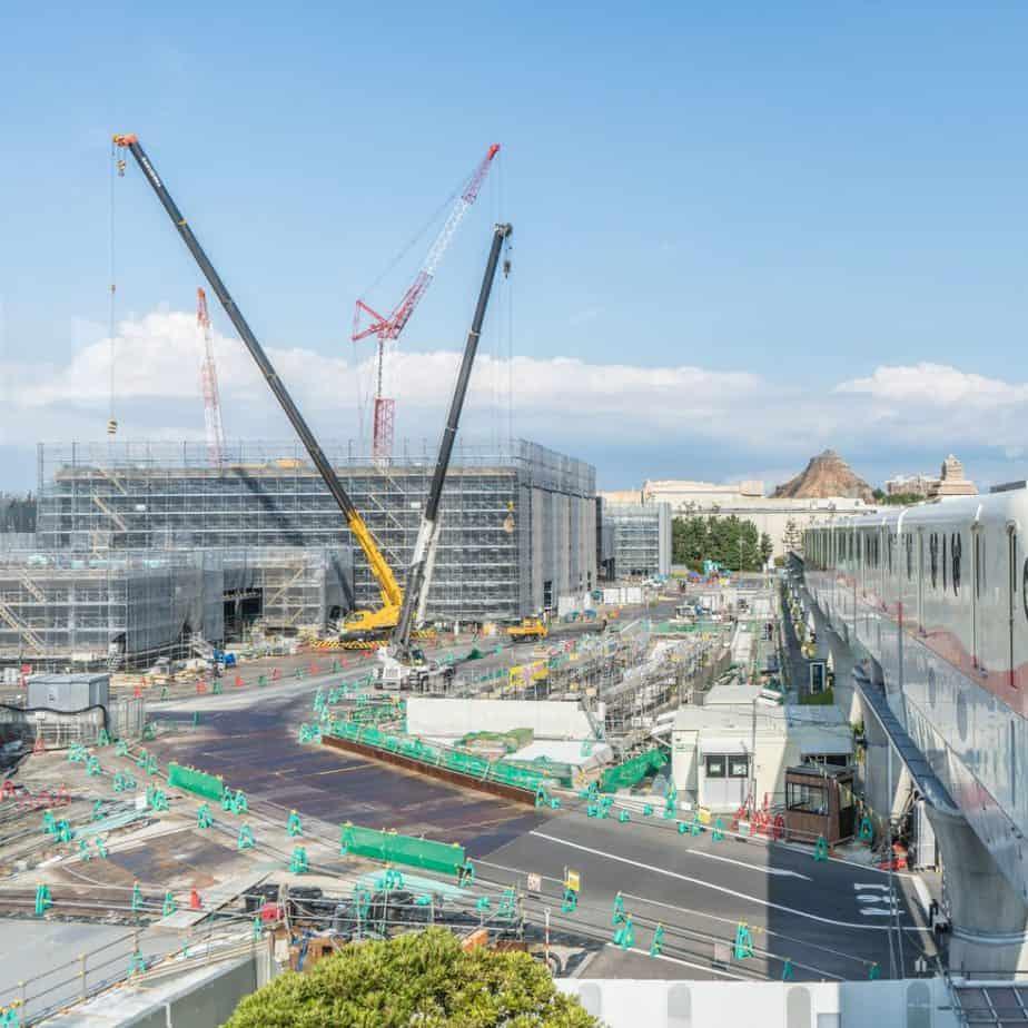 Tokyo DisneySea Fantasy Springs Construction Update (June 2020)