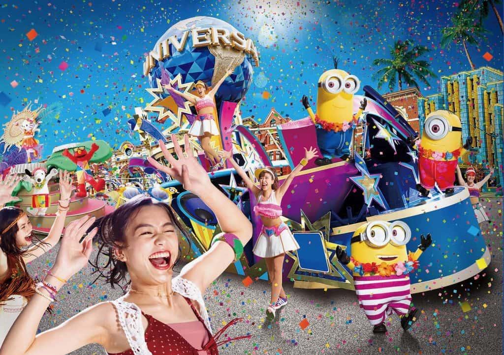 Universal Studios Japan Summer Merchandise, Entertainment, & Snacks