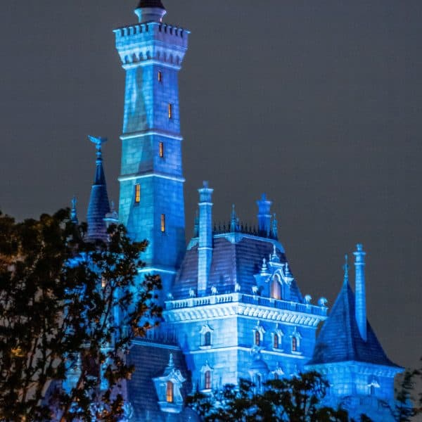 Beast's Castle for the new Beauty and the Beast ride at Tokyo Disneyland