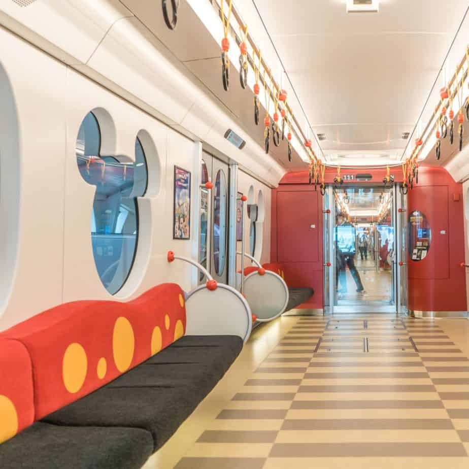 A Tour of the New Type C Monorail at Tokyo Disney Resort