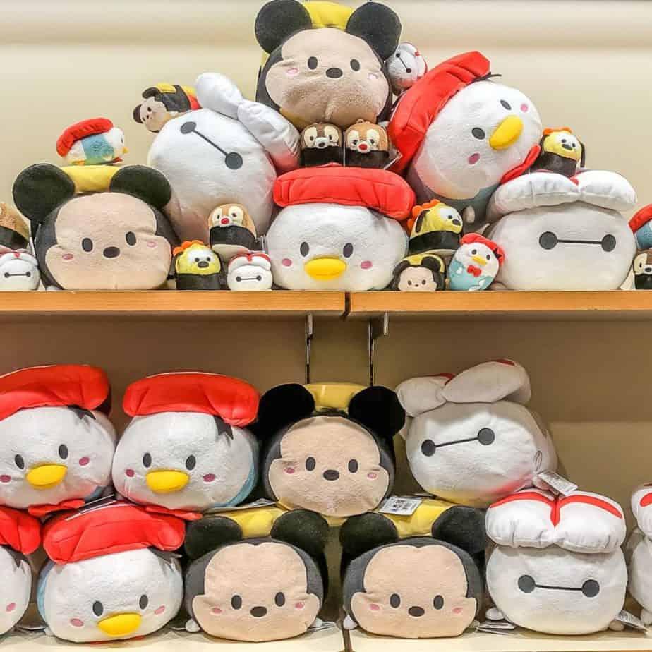 Tsum Tsum Sushi Merchandise at Disney Store Japan & New Baskets