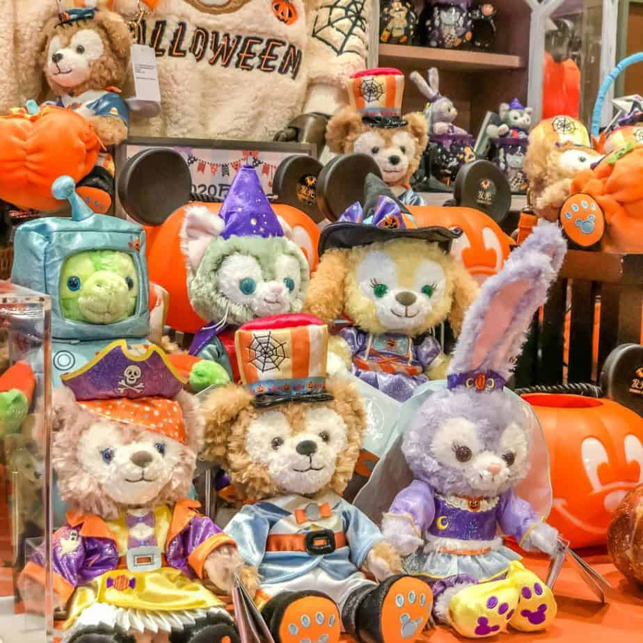 Duffy & Friends Shanghai Disneyland Halloween 2020 Merchandise
