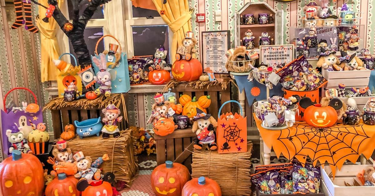 Shanghai 2020 Halloween Duffy & Friends Shanghai Disneyland Halloween 2020 Merchandise