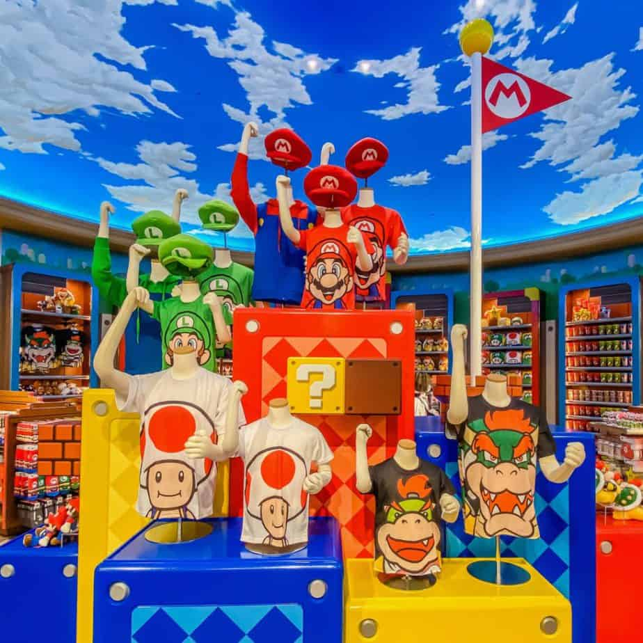 Super Nintendo World Merchandise at Universal Studios Japan