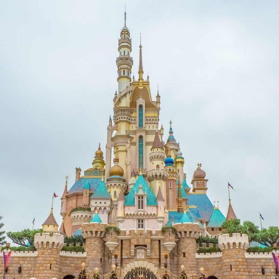 PHOTOS: Hong Kong Disneyland Castle of Magical Dreams