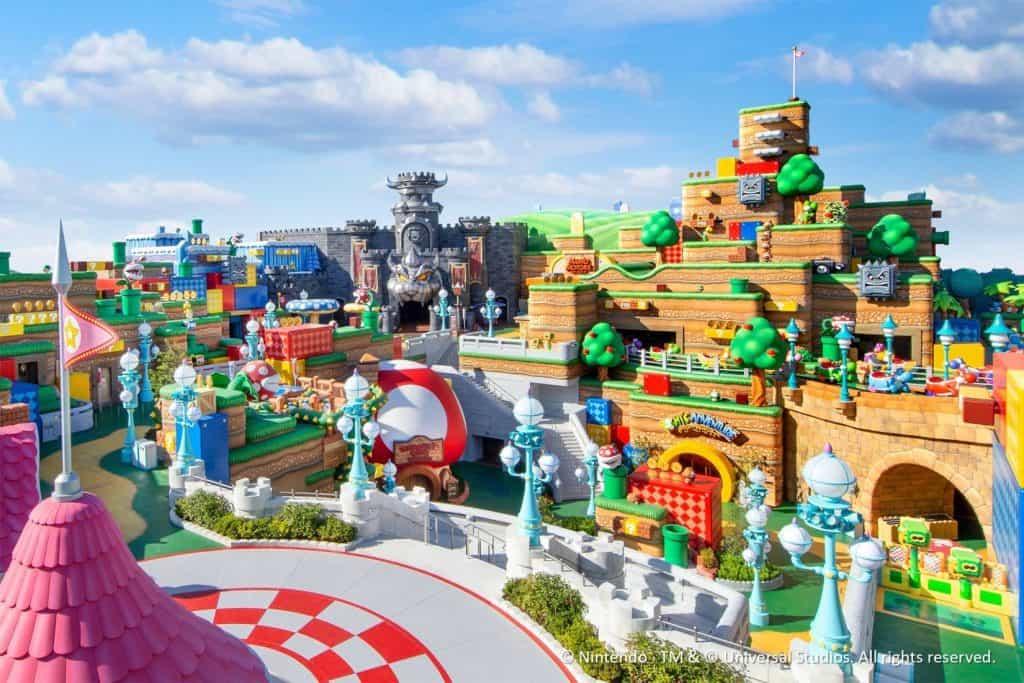 Super Nintendo World Advance Preview Details