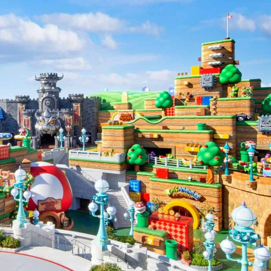 Super Nintendo World Opening March 18, 2021, at Universal Studios Japan