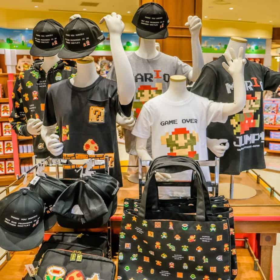 8-Bit Mario Merchandise at Universal Studios Japan