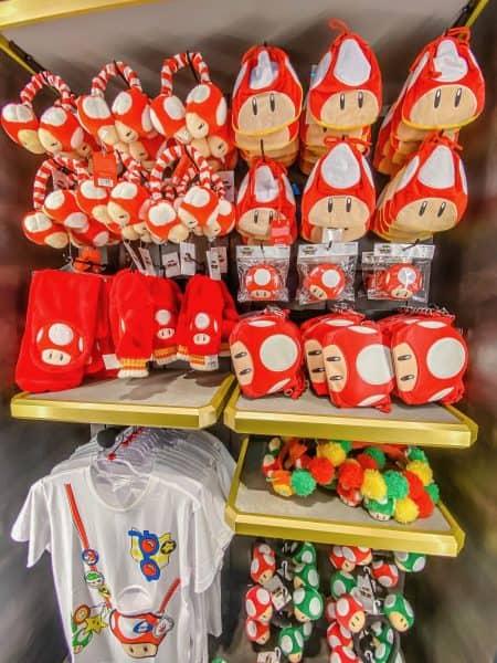 Mario Items Apparel