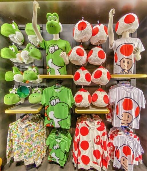 Toad & Yoshi Apparel