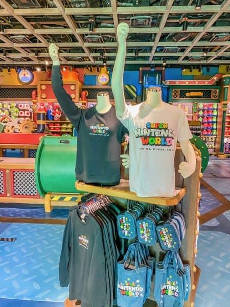 Super Nintendo World Shirts