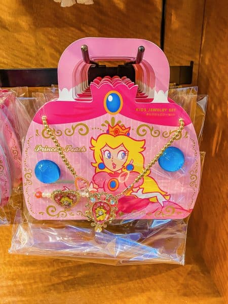 Princess Peach Kids Jewelry Set