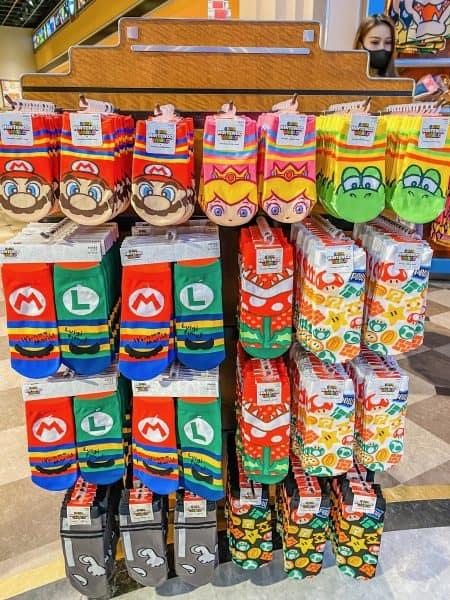 Super Nintendo World Socks