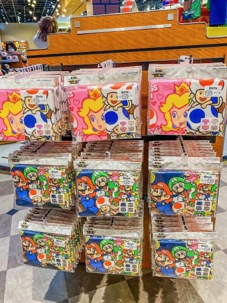 Super Nintendo World Underwear
