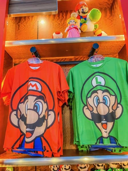 Mario & Luigi Apparel
