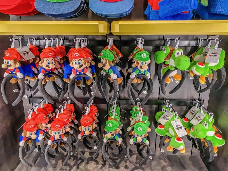Mario & Luigi Headbands