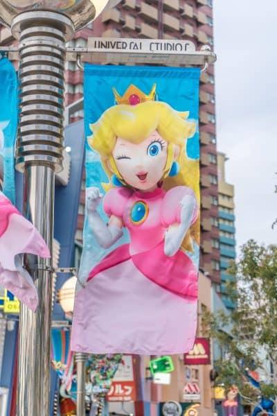 Super Nintendo World Banners Universal Studios Japan-10