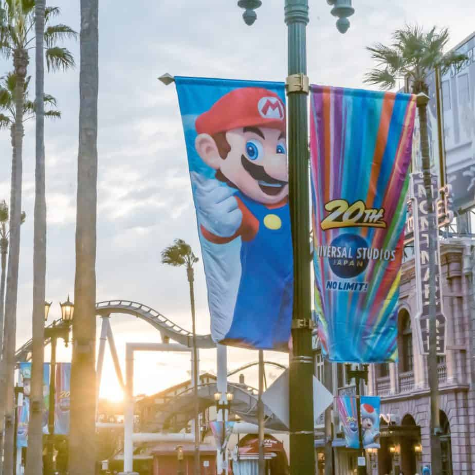 Super Nintendo World Gets Ready at Universal Studios Japan