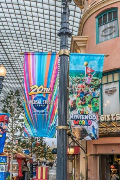 Super Nintendo World Banners Universal Studios Japan-15