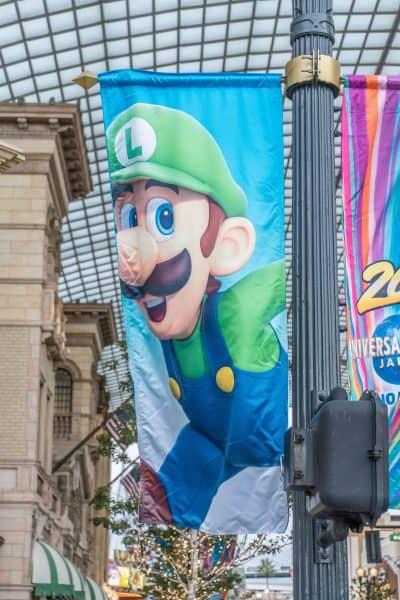 Super Nintendo World Banners Universal Studios Japan-16