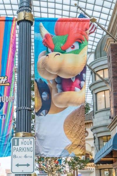 Super Nintendo World Banners Universal Studios Japan-17