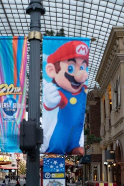 Super Nintendo World Banners Universal Studios Japan-18