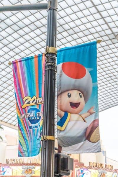Super Nintendo World Banners Universal Studios Japan-20