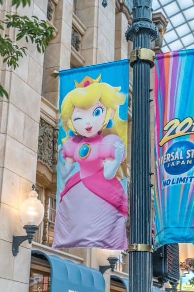 Super Nintendo World Banners Universal Studios Japan-21
