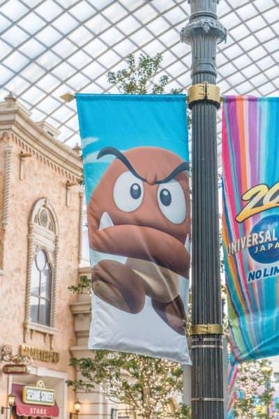 Super Nintendo World Banners Universal Studios Japan-23