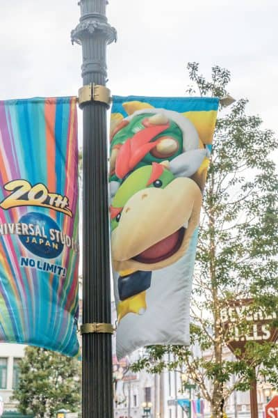 Super Nintendo World Banners Universal Studios Japan-24