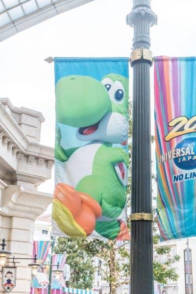 Super Nintendo World Banners Universal Studios Japan-25