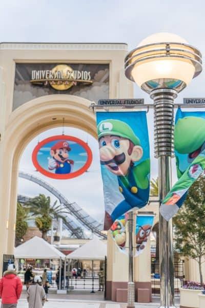 Super Nintendo World Banners Universal Studios Japan-4