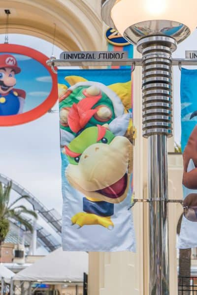 Super Nintendo World Banners Universal Studios Japan-5