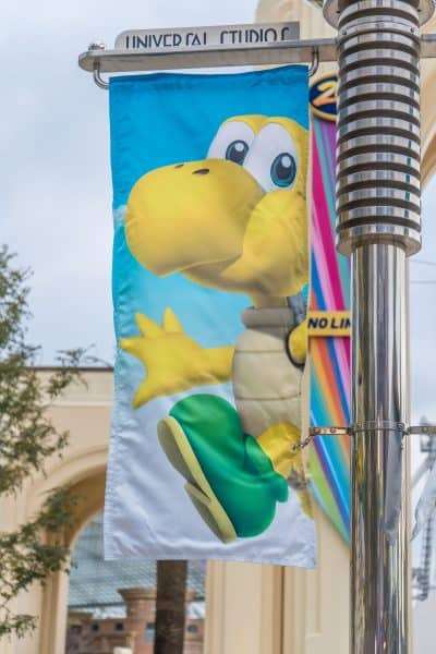 Super Nintendo World Banners Universal Studios Japan-6