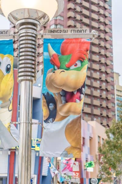 Super Nintendo World Banners Universal Studios Japan-7