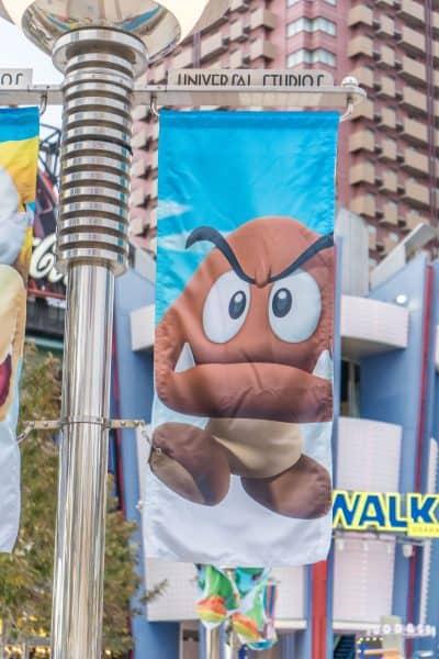Super Nintendo World Banners Universal Studios Japan-8