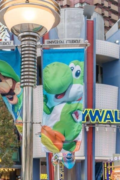 Super Nintendo World Banners Universal Studios Japan-9