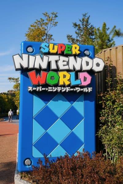 Super Nintendo World Photos Entrance