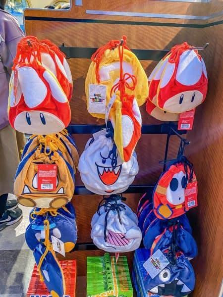 Super Nintendo World Drawstring Bags