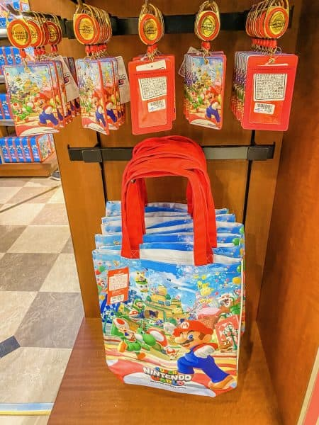 Super Nintendo World Pass Case & Tote Bag