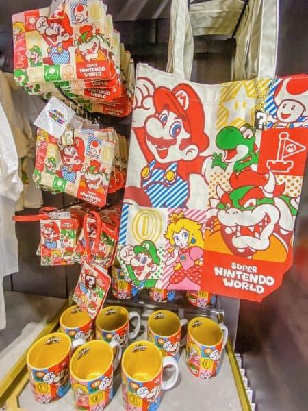 Super Nintendo World Bags, Pass Case, & Mug