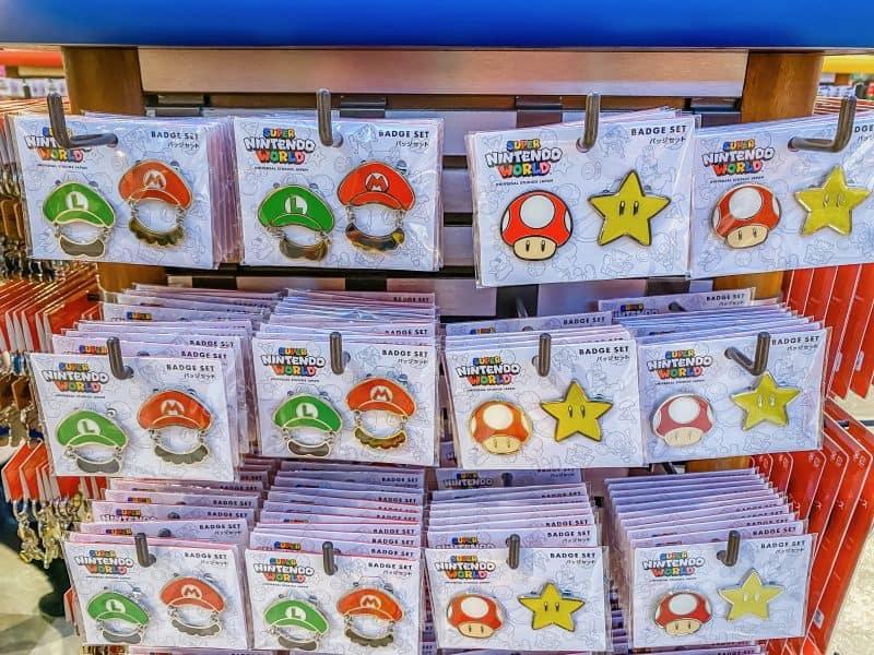 Super Nintendo World Badge Set