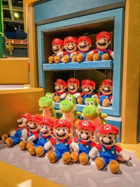 Super Nintendo World Plush Dolls